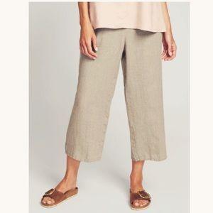 Flax Linen Flood Pants